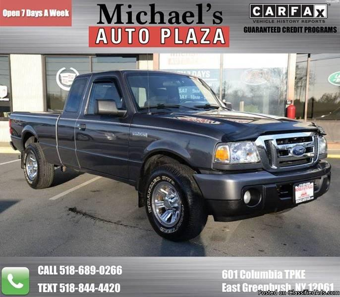 2009 Ford Ranger 4x4 XLT 2dr SuperCab SB w/ Payload Package and/or Jumpseats!...