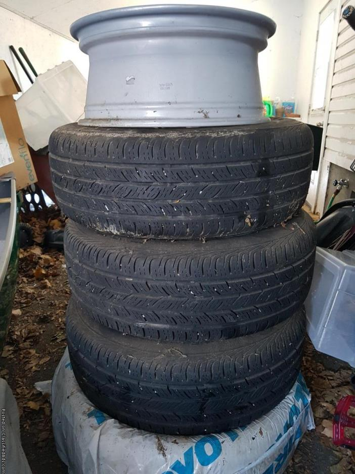 2010 Subaru Outback Factory Tires and Rims