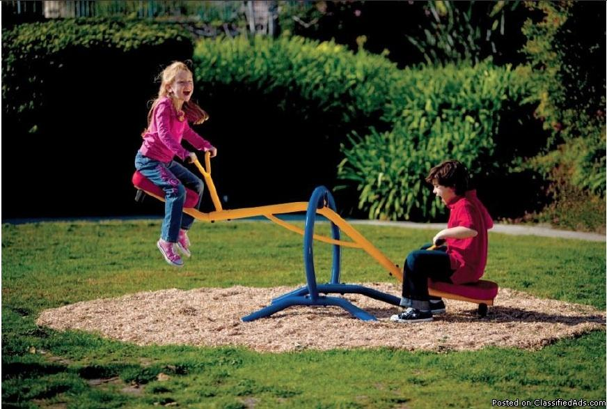 Backyard Teeter Totter