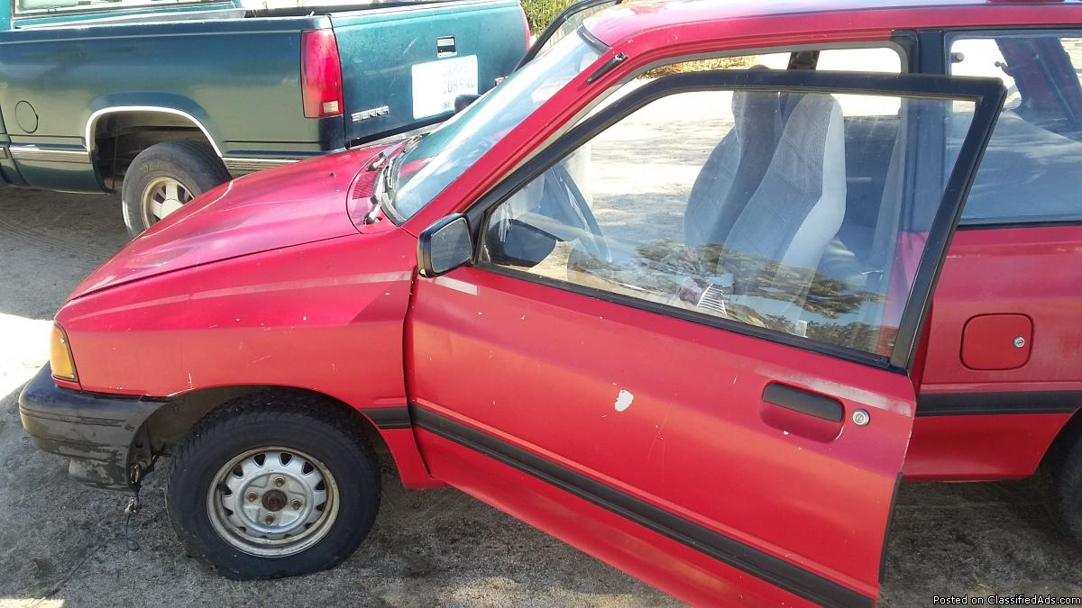 Ford Festiva Vehicles For Sale