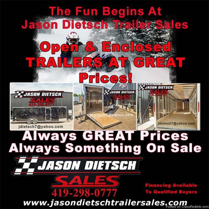 Open & Enclosed Trailers