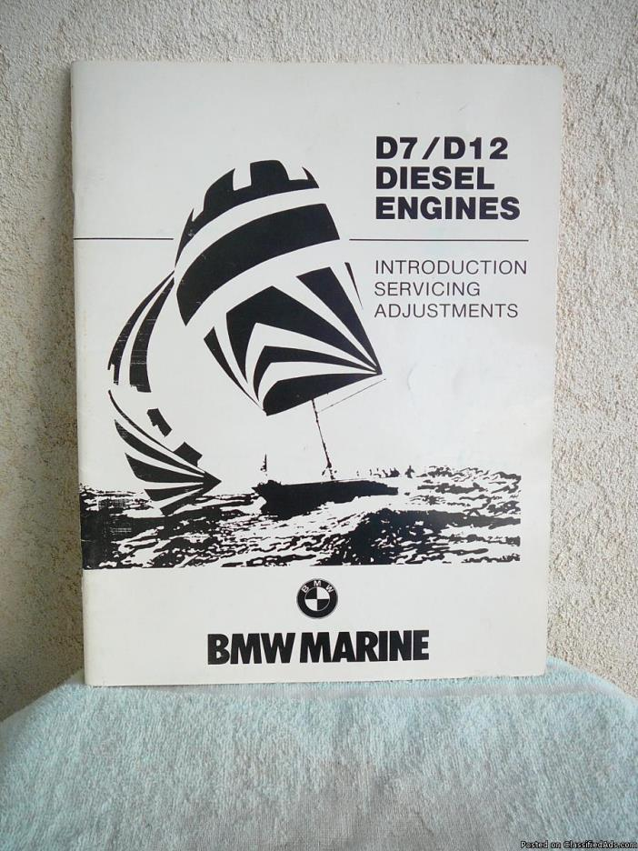 BMW Marine  D7-D12 Diesel ENGINE SERVICE MANUAL