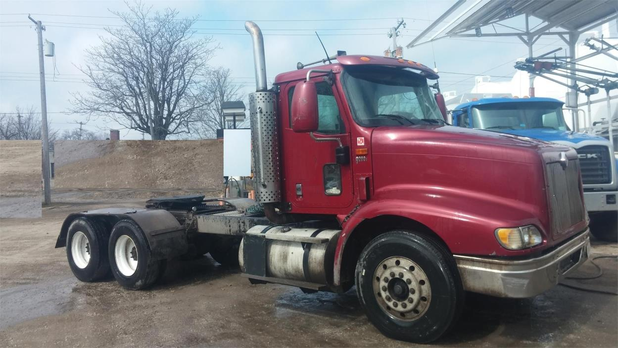 2001 International 9200 Cab Chassis