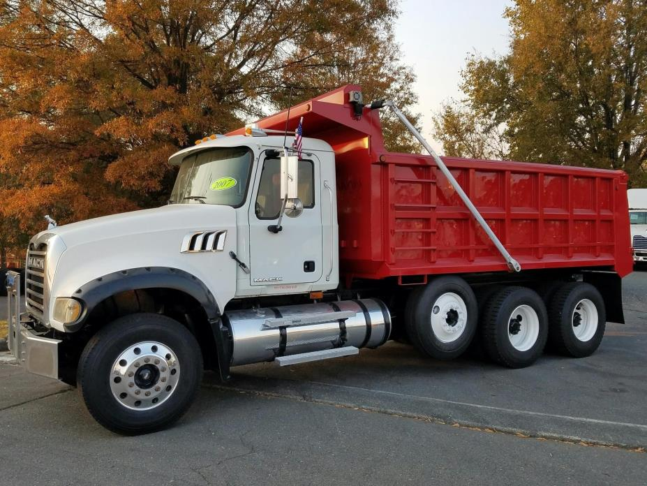 2007 Mack Granite Ctp713  Dump Truck
