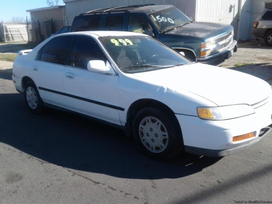 1995 Honda Accord Vehicles For Sale