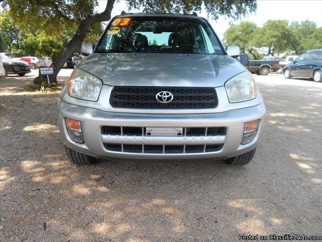 2003 Toyota Rav4 automatic