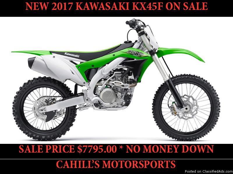 NEW 2017 KAWASAKI KX450F