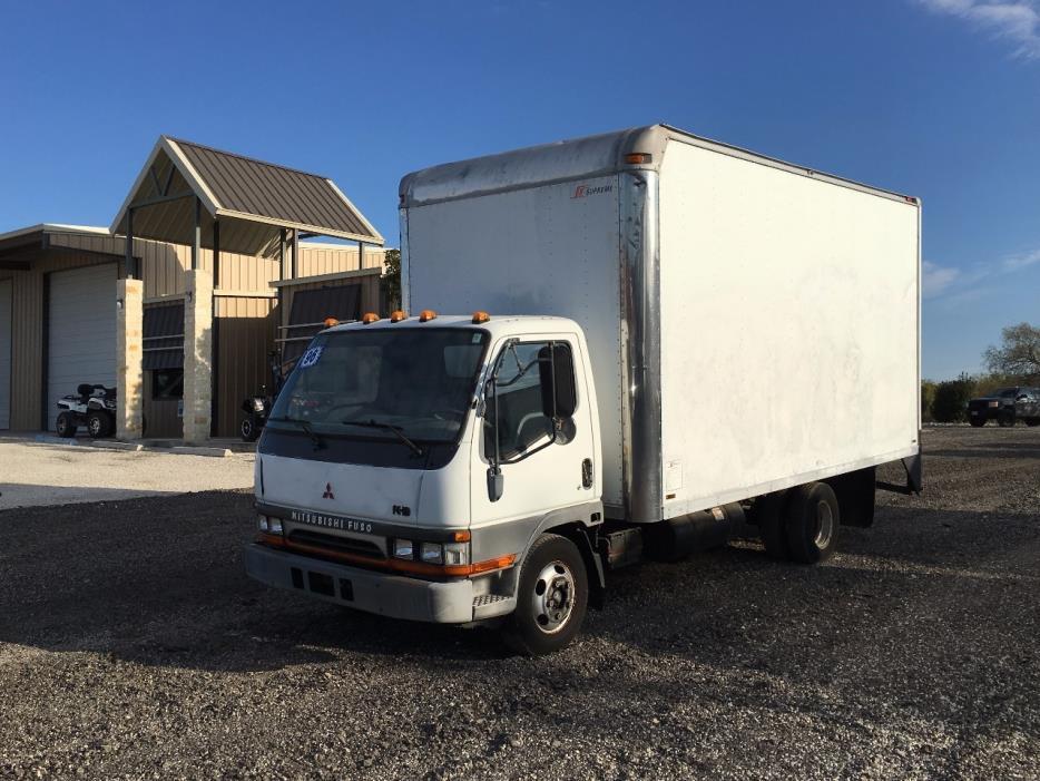 1996 Mitsubishi Fuso Fe Box Truck - Straight Truck