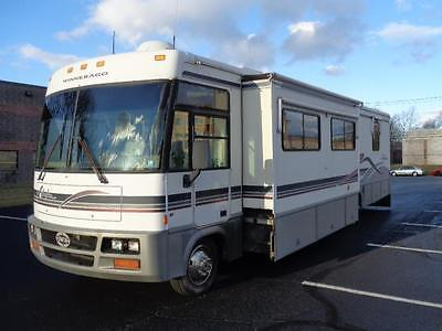 1999 Ford Super Duty F-550 Motorhome  56,030 Miles WHITE Specialty Vehicle 10 Cy