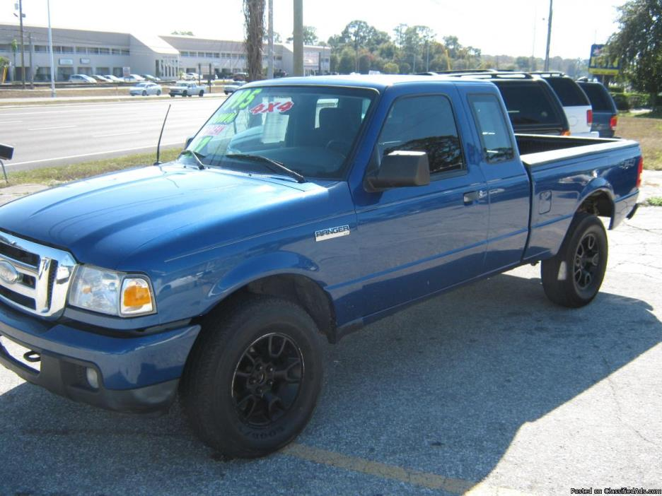 2007 Ford Ranger XLT 4X4 SuperCab - Buy Here Pay Here