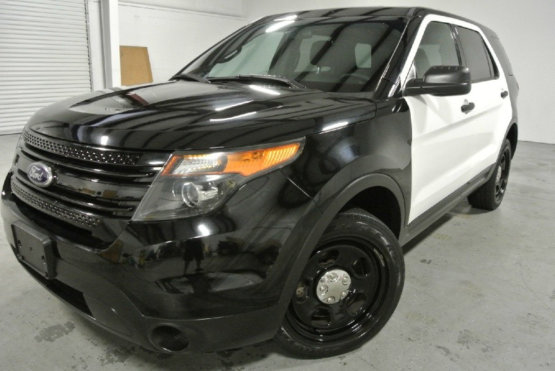 Ford Interceptor For Sale >> Ford Explorer Police Interceptor Cars for sale