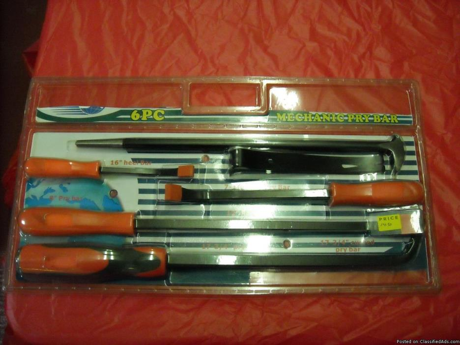 New Tap& DIE Sets Pry Bars &Auto Body Sets