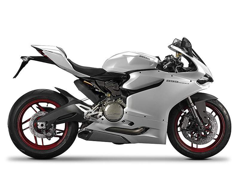 ducati 899 panigale star white silk motorcycles for sale. Black Bedroom Furniture Sets. Home Design Ideas