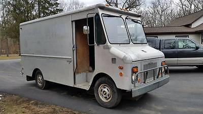 1981 Chevrolet P30 Step Van 1981 Chevrolet P30 Grumman Step Van