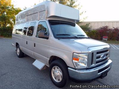 2009 Ford E350 XL Handicap Wheelchair Ambulette Van (A4802)