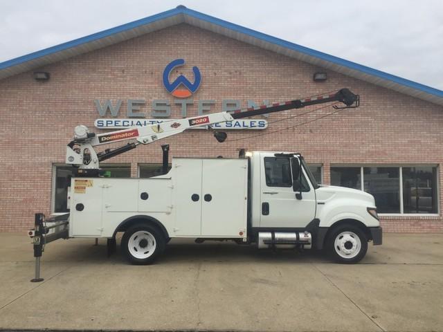 2012 International Terrastar Crane Truck