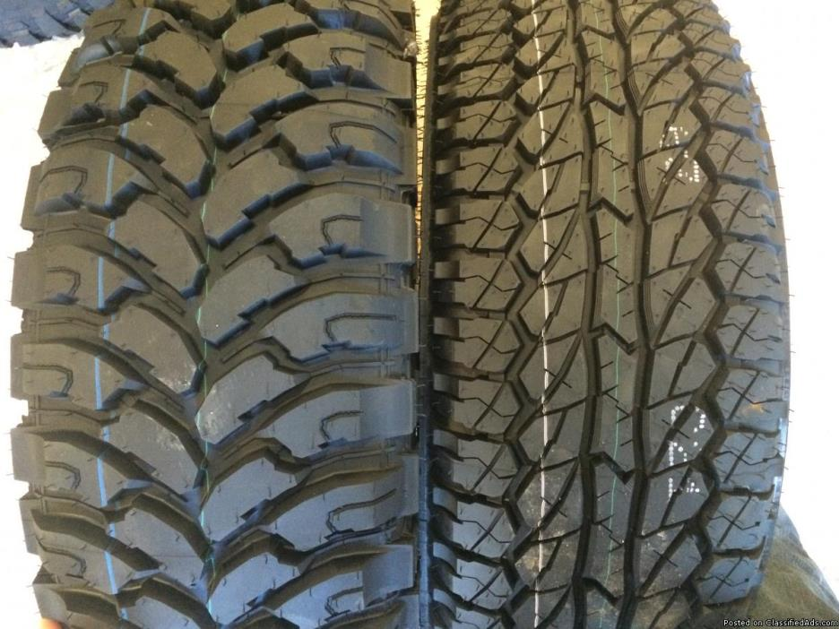 Brand New Winter, Mud + Snow , All Season and Light Truck Tires with Warranty -...