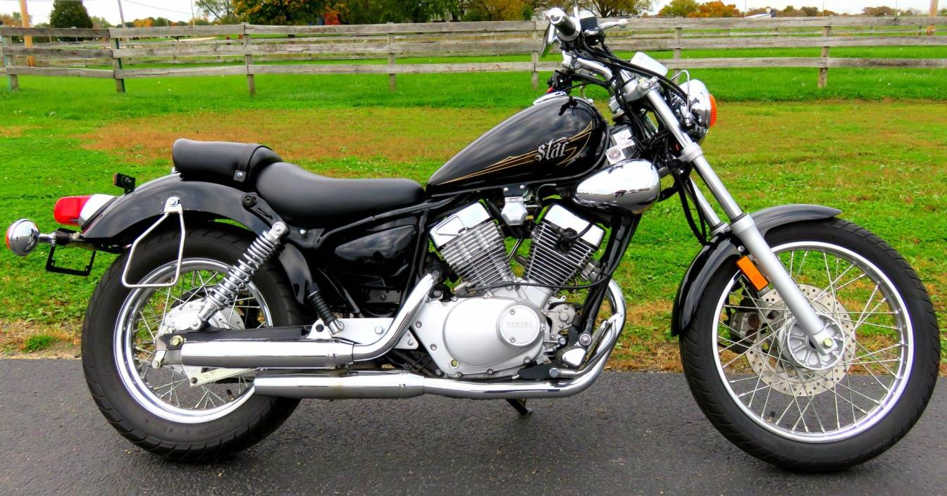 Yamaha v star 250 motorcycles for sale in illinois for Yamaha v star 250 for sale