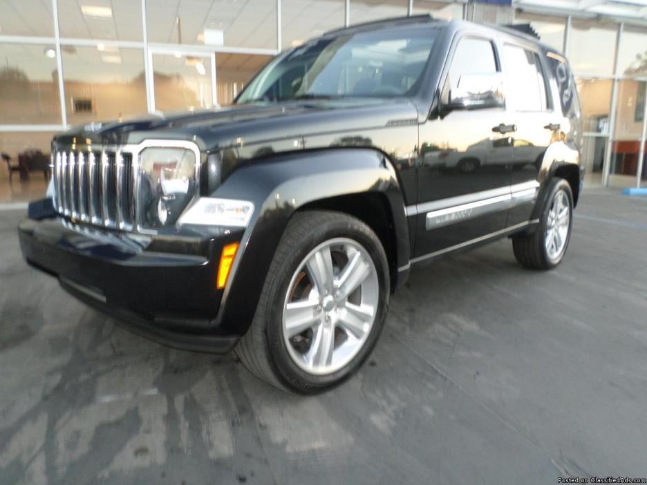 2011 Jeep Liberty Jet loaded