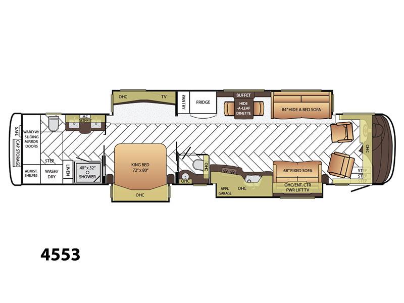2015 Newmar Luxury Essex 4553