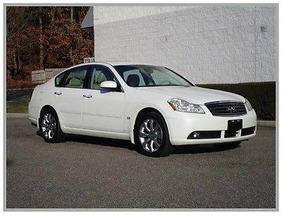 2007 Infiniti M35 X Sedan 4-Door 07 Infinity M35 Sport Navigation 4x4 All wheel drive Heated seats Clean fax