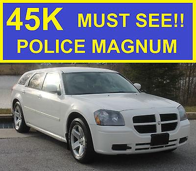 2006 Dodge Magnum SXT POLICE 2006 DODGE MAGNUM POLICE SXT 5.7 HEMI!!! LOW MILES!! MUST SEE!! CROWN VICTORIA