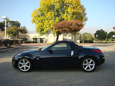 Nissan 350z touring 2 door roadster convertible cars for sale