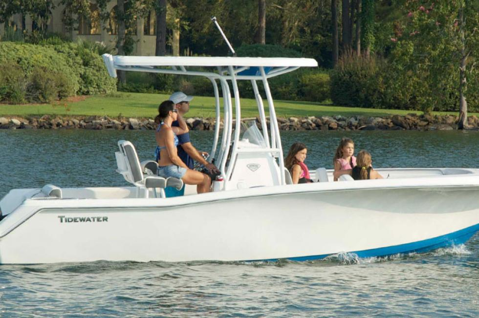 2017 TIDEWATER BOATS 220 CC Adventure