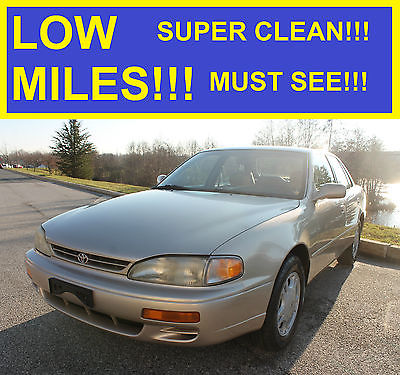 1996 Toyota Camry XLE Sedan 4-Door 1996 TOYOTA CAMRY V6 CLEAN MUST SEE!!! COROLLA 97 95 98 99 2000