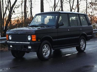 1995 Land Rover Range Rover 4dr Wagon County Lwb 108