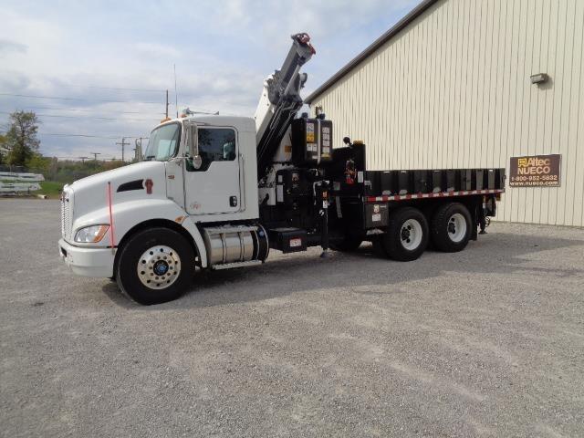 2014 Kenworth T370 Crane Truck