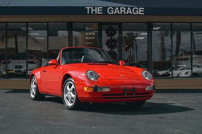1998 Porsche 911 2dr Carrera Cabriolet 6-Speed Manual '98 Porsche 911 Carrera Cabriolet, 6 Spd Manual,17