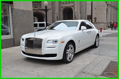 2015 Rolls-Royce Ghost Rolls-Royce Ghost 2015 Used Turbo 6.6L V12 48V Automatic RWD Sedan Premium