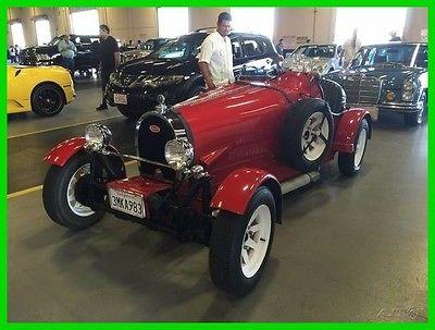 1966 Replica/Kit Makes BUGATTI  FREE SHIPPING 1927 BUGATTI 35B  Movie Reproduction on 66 VW