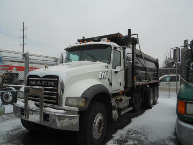 2005 Mack Granite Cv713  Dump Truck