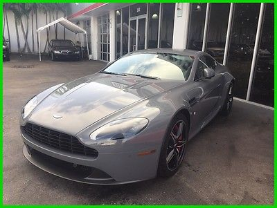 2016 Aston Martin Vantage 6 SPEED - MANUAL 2016 6 SPEED - MANUAL Used 4.7L V8 32V Manual RWD Premium