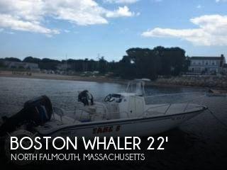 2002 Boston Whaler 220 Dauntless