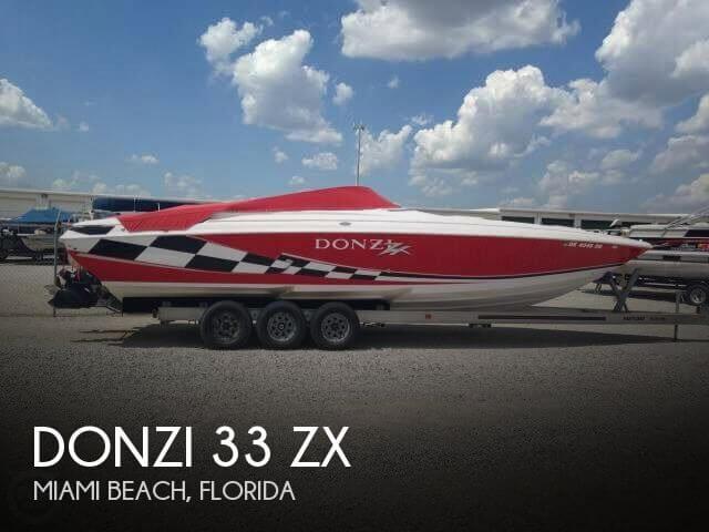 1999 Donzi 33 ZX