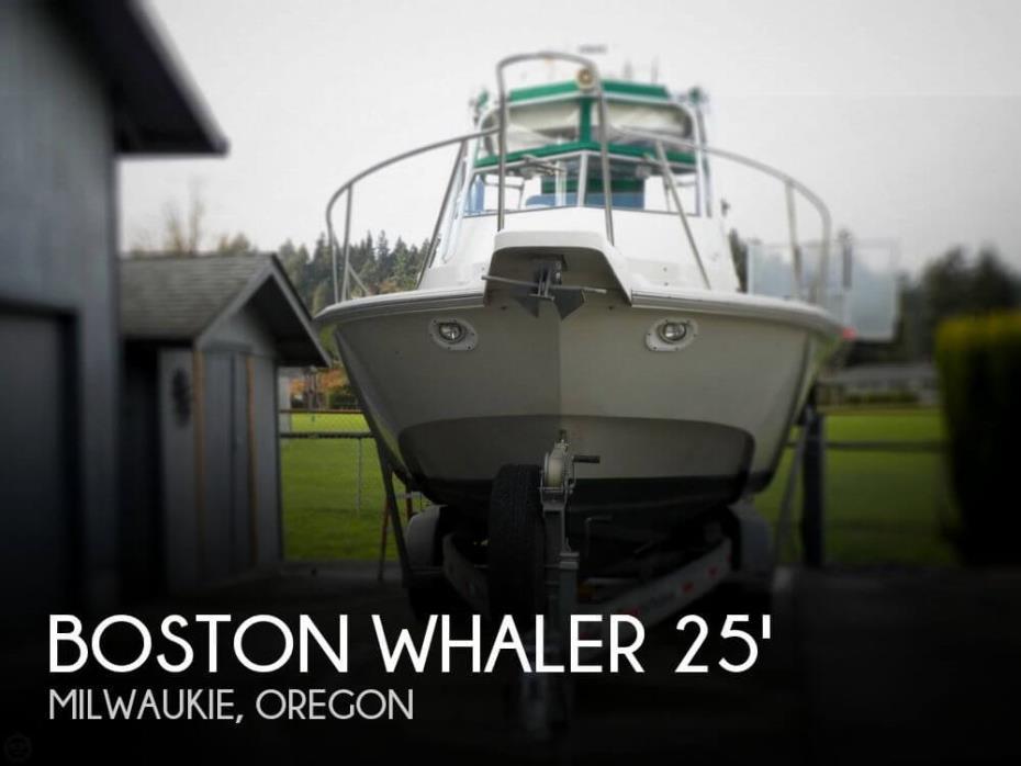 1991 Boston Whaler Outrage 25WA