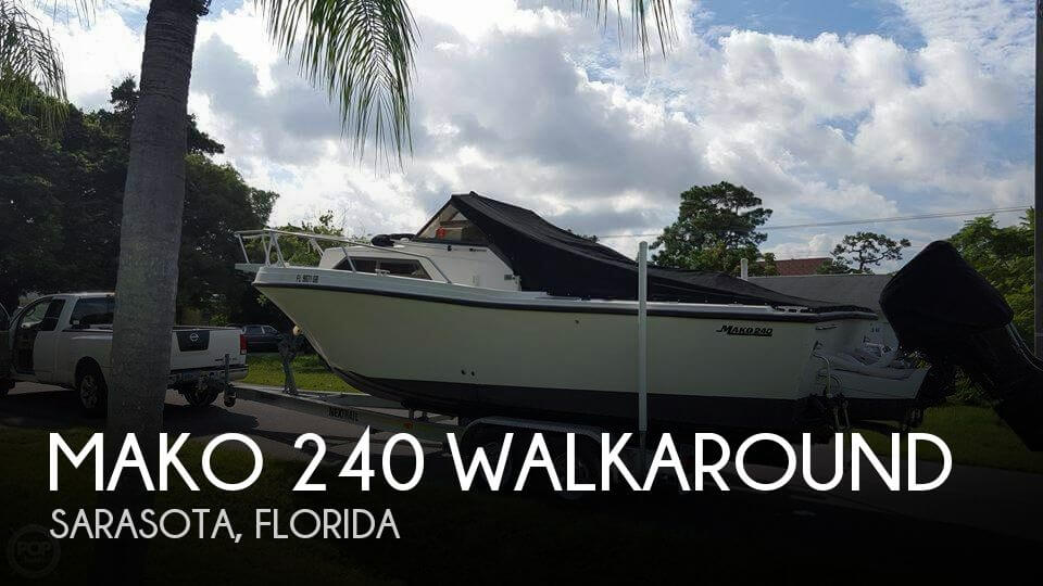 1989 Mako 240 Walkaround