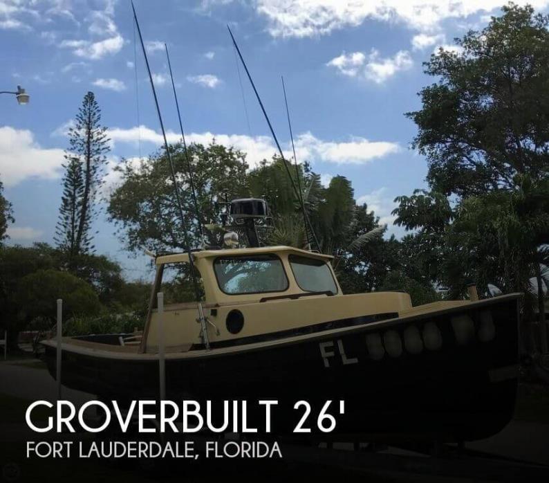 1981 Groverbuilt 26 Hardtop
