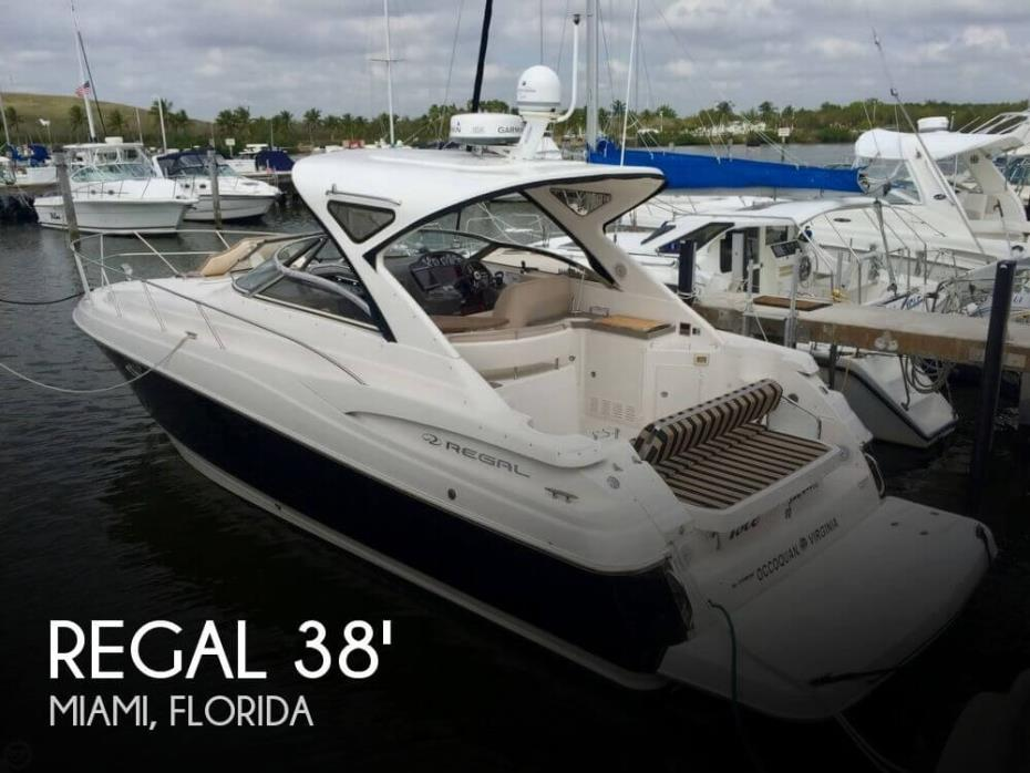 2011 Regal 38 Express Cruiser