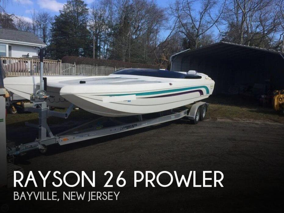 2002 Rayson Craft Boats 26 Prowler