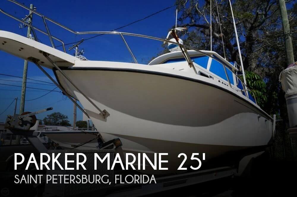 1998 Parker Marine 2520 DV Pilothouse