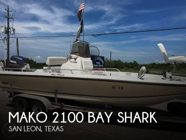 1999 Mako 2100 Bay Shark