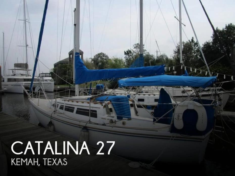 1986 Catalina 27