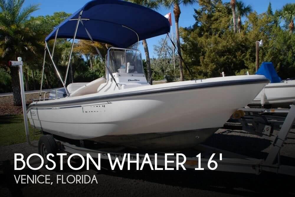 2000 Boston Whaler 16 Dauntless