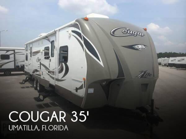 2014 Keystone Cougar 35 Travel Trailer