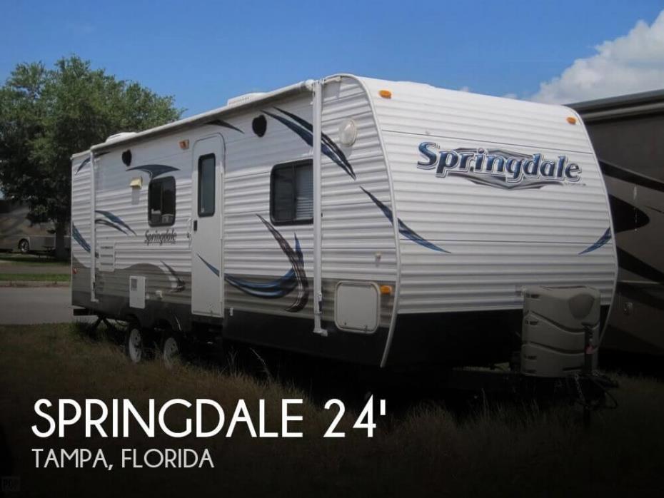 2013 Keystone Springdale 246RBLSWE