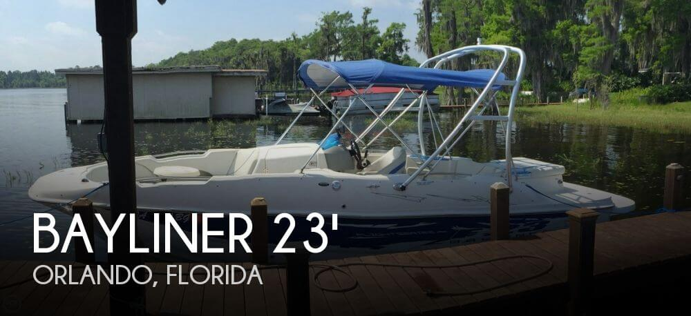 2007 Bayliner 237 SD Special Edition